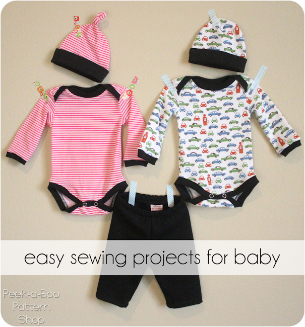 Getting Ready for Baby! - Peek-a-Boo Pages - Patterns, Fabric & More!