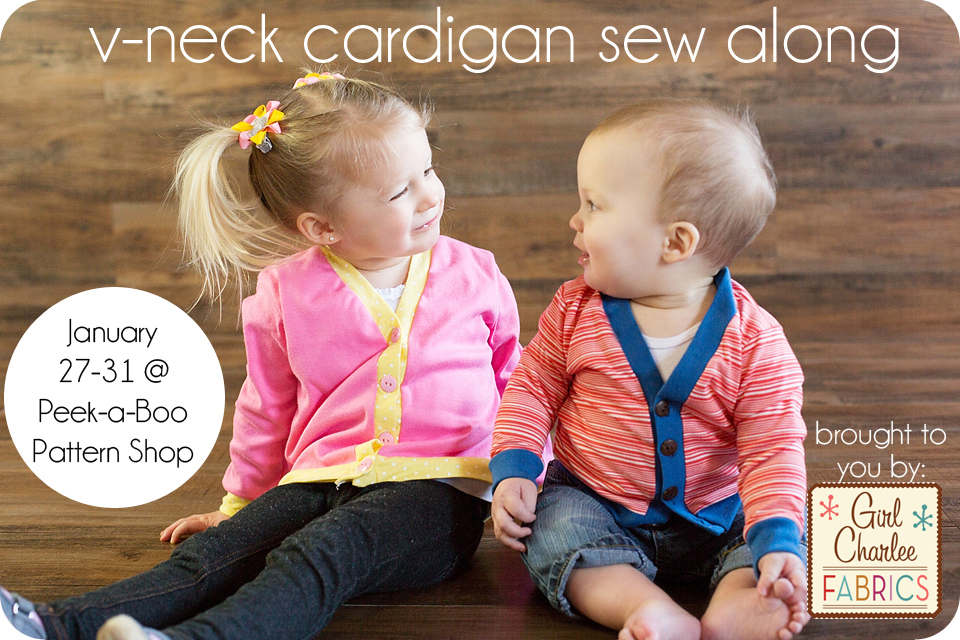 V-Neck Cardigan Sew Along