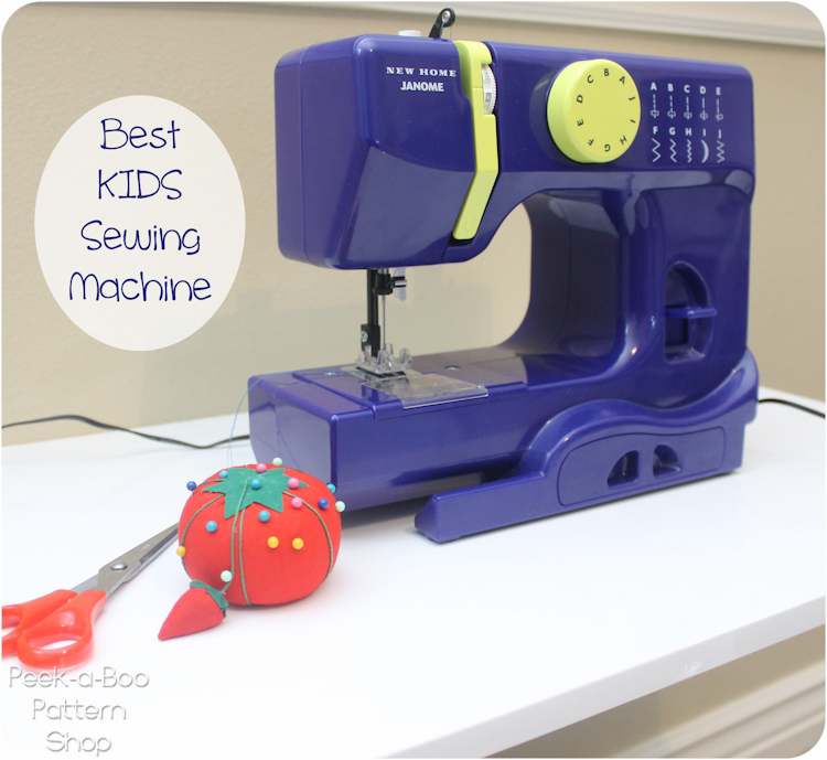 Best sewing machines for kids peek a boo pages patterns fabric to sew i decided she needed her own sewing nook in my office i got this drop leaf table and a child size folding chair it came in fun colors too watchthetrailerfo