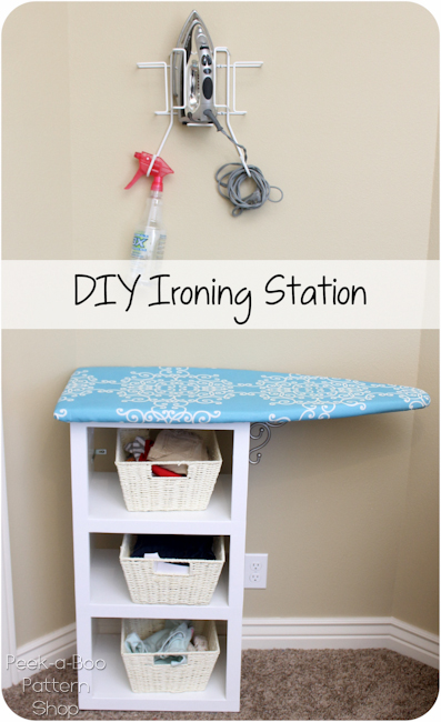 DIY Ironing Station
