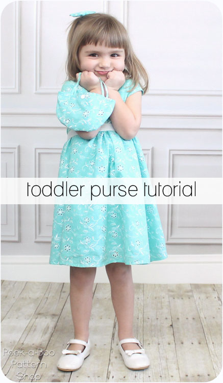 Free Toddler Purse Sewing Tutorial - Peek-a-Boo Pages - Patterns ...