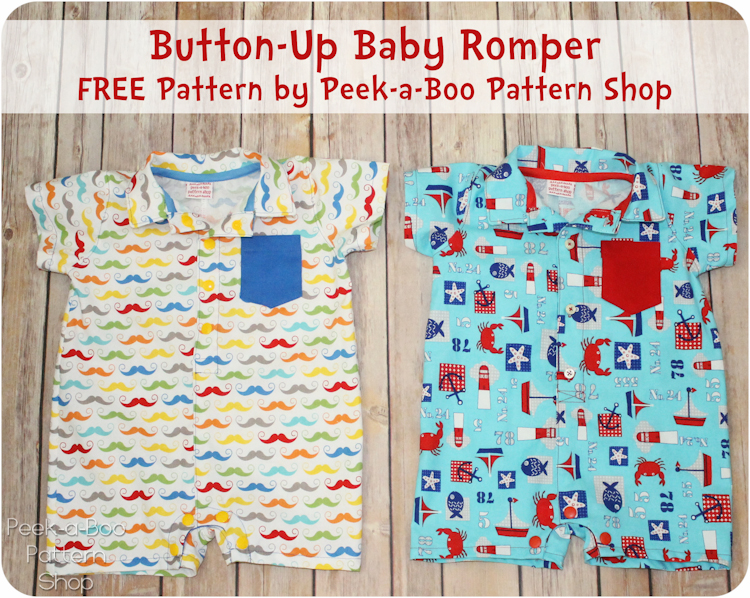 button-up romper