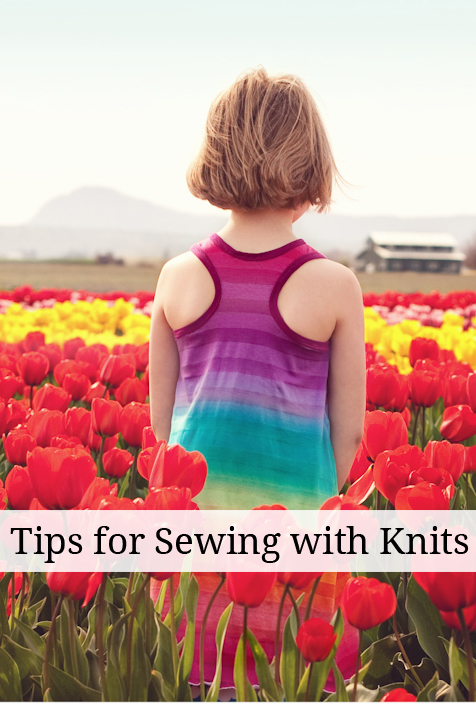 Tips For Knitting Quickly : Tips for sewing knits