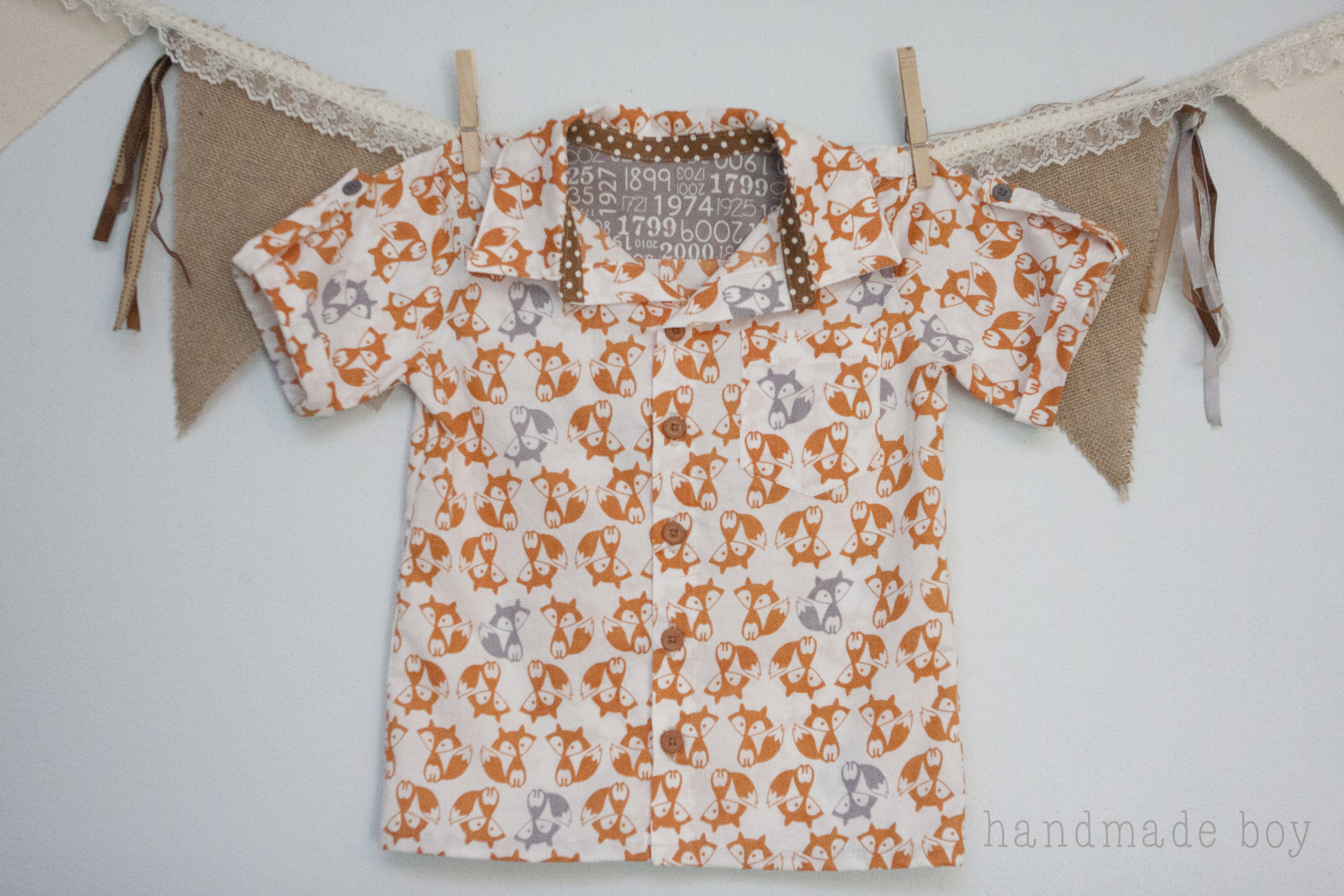 Classic oxford turned casual camp shirt with handmade boy peek a you have a very simple camp shirt like below jeuxipadfo Images