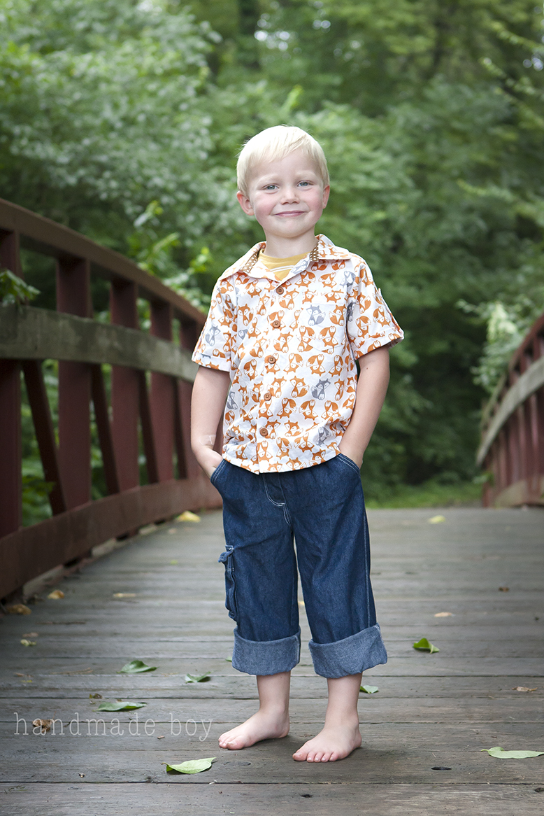 Classic oxford turned casual camp shirt with handmade boy peek a he is one styling four year old in his peek a boo wardrobe now tell me boy sewing is dull and boring go ahead try it jeuxipadfo Images