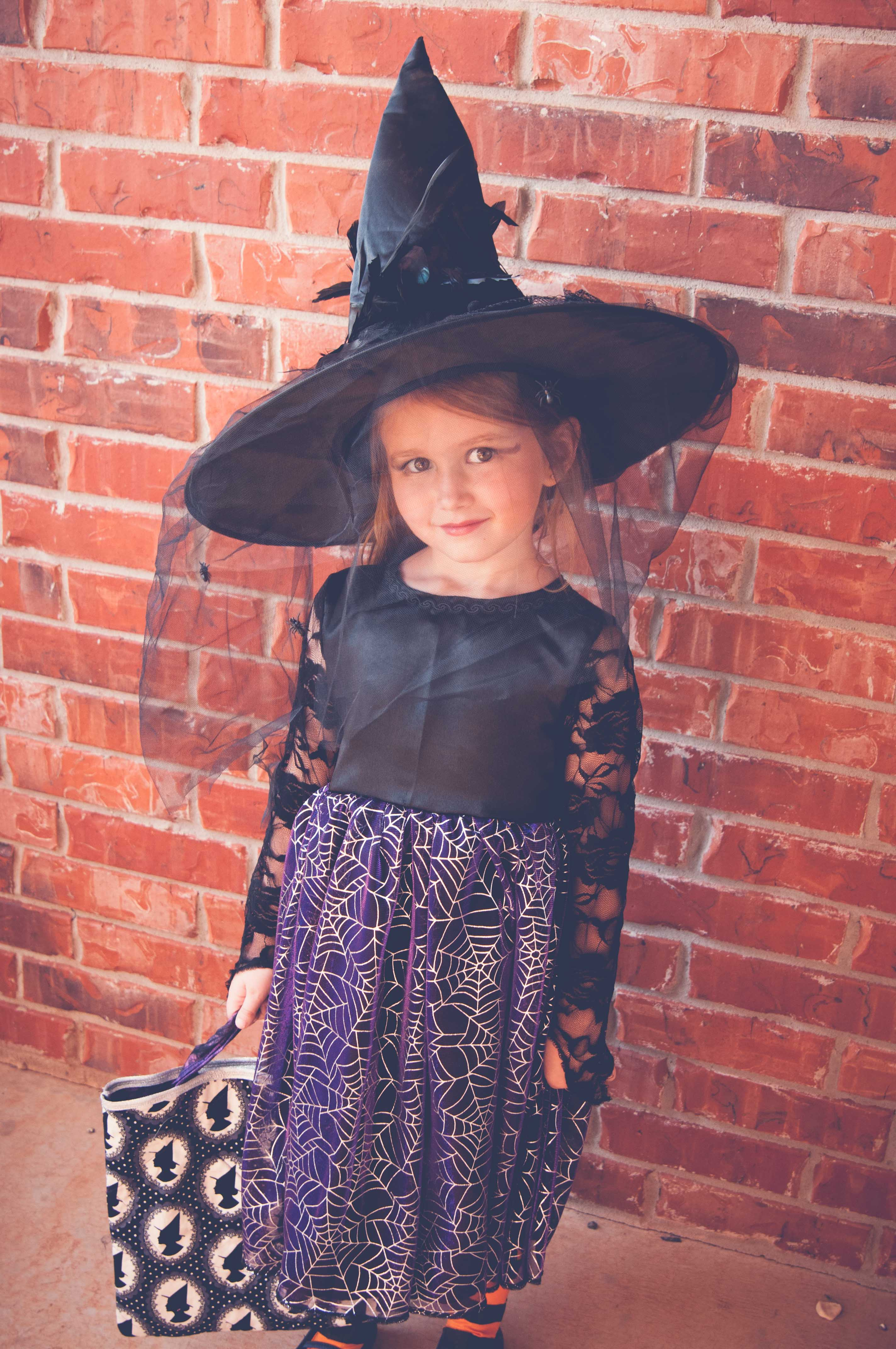 Spooky Witch Costume Tutorial - Peek-a-Boo Pages - Sew Something ...