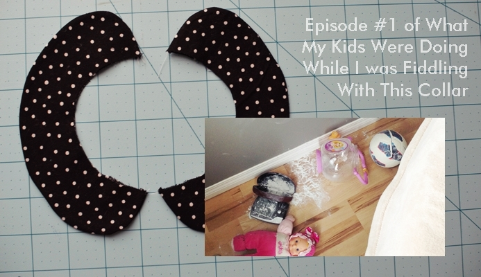 Peter Pan Collar Tutorial