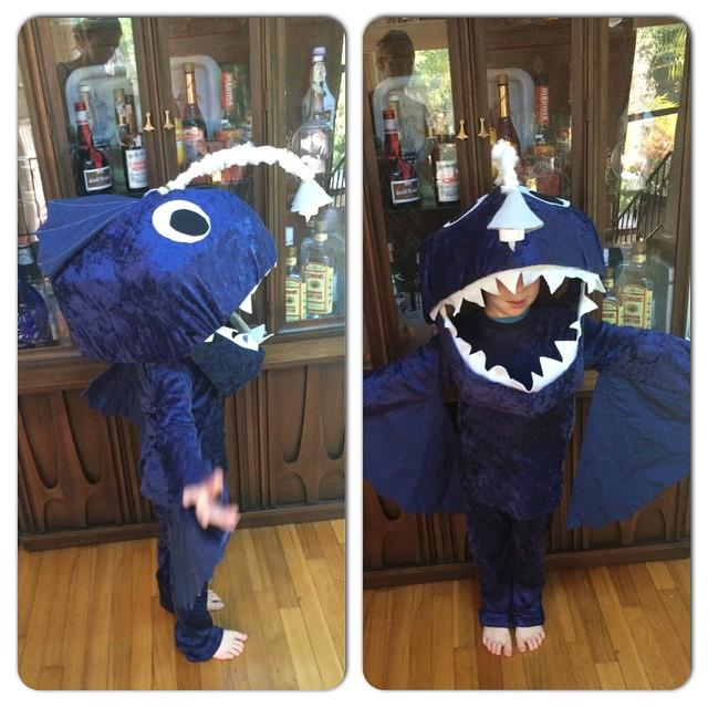 41 Angler Fish Most Elaborate Costume- Woody u0026 Buzz & Costume Contest Winners!! - Peek-a-Boo Pages - Patterns Fabric u0026 More!