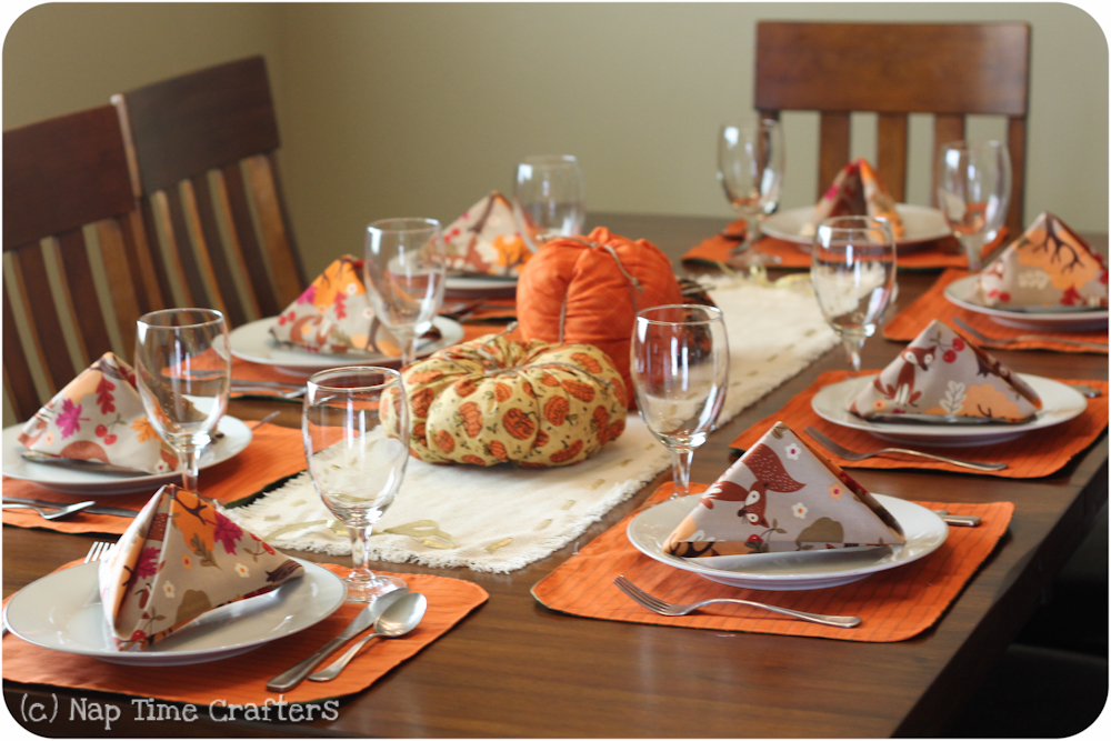 Rustic thanksgiving table setting peek a boo pages