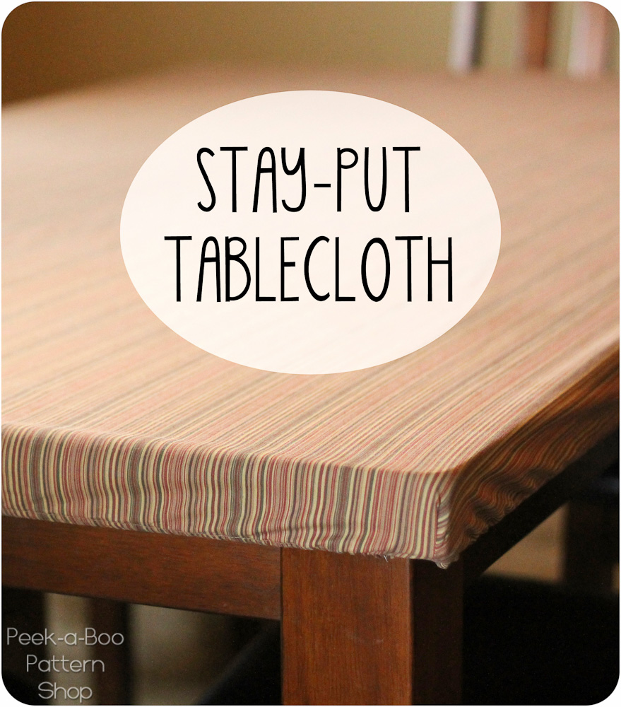 Stay Put Tablecloth