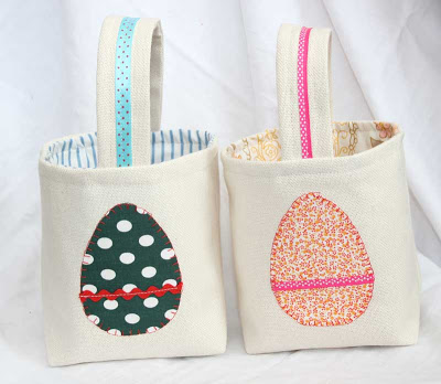 fabric egg bag