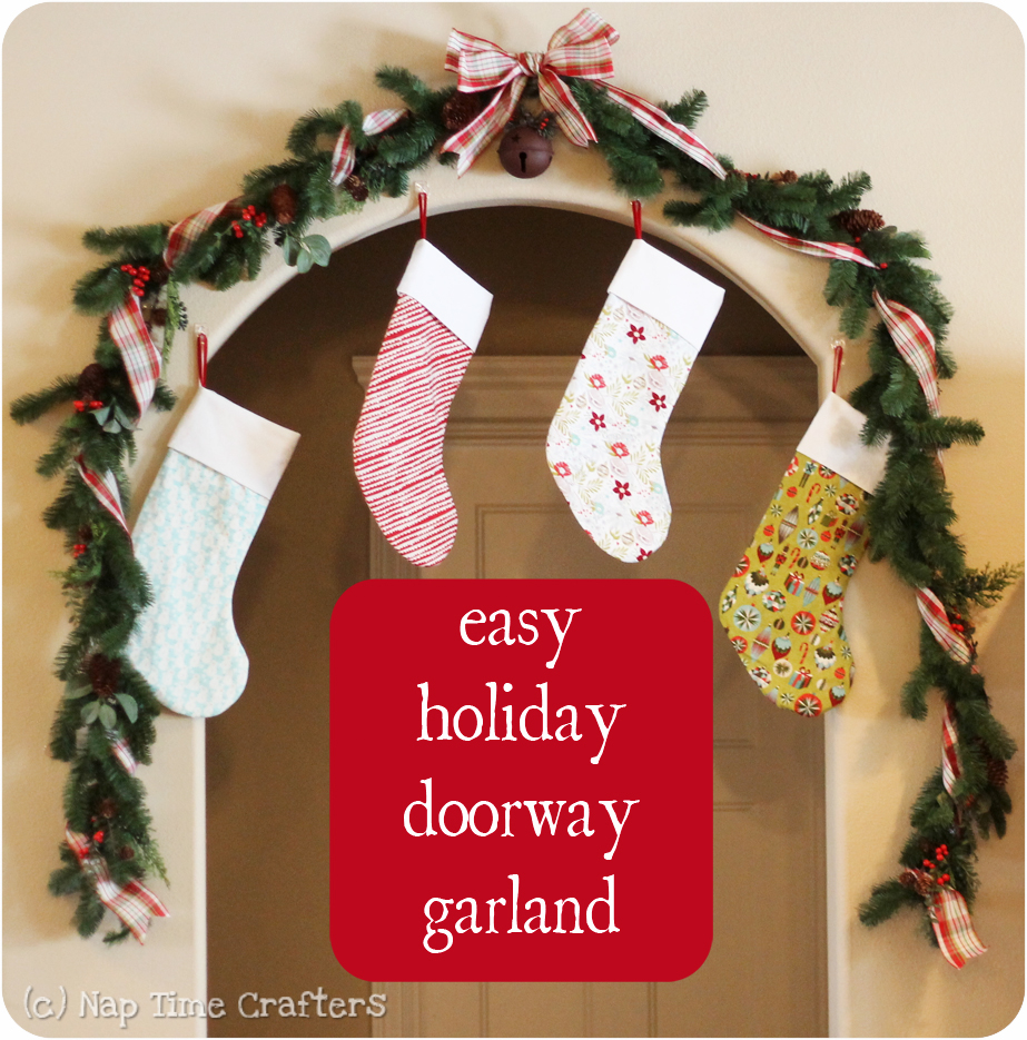 doorway garland