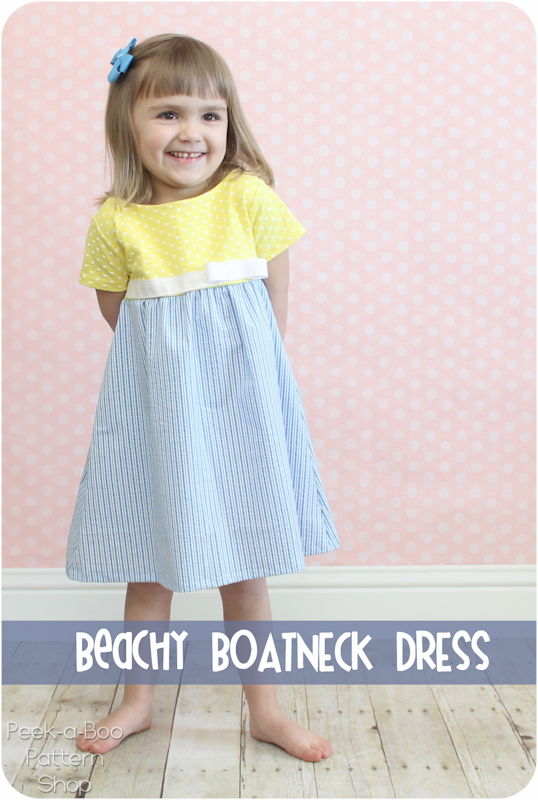 Beachy Boatneck Dress