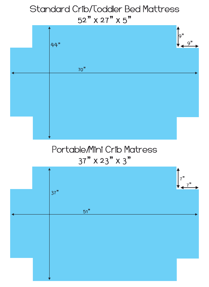 crib dimensions