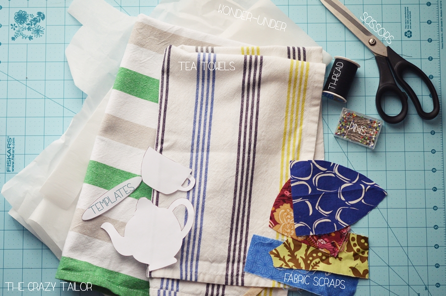 Half-Handmade Tea Towels