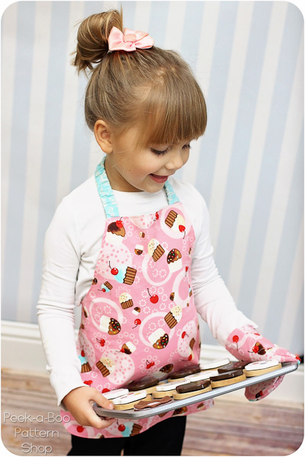 toddler apron pattern