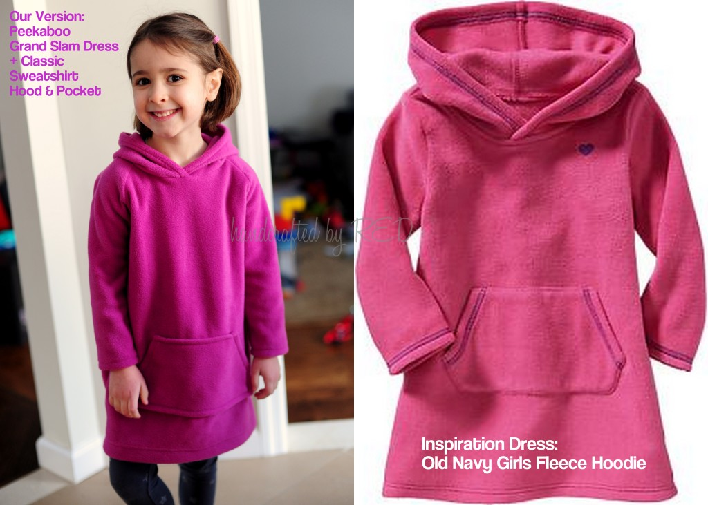 Posey fleece dress