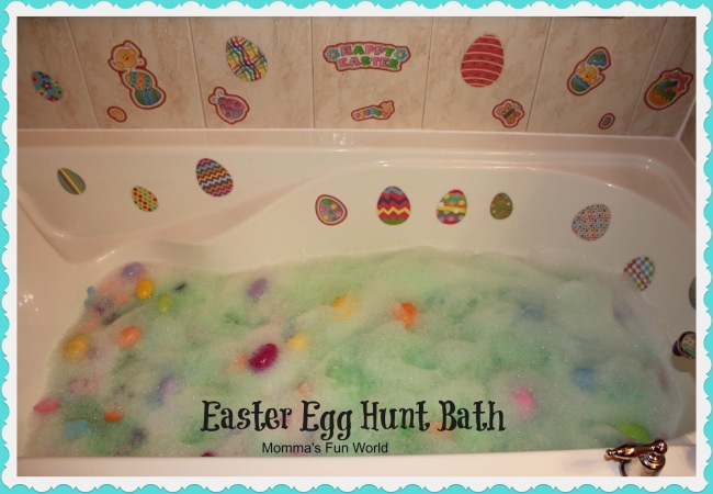 Easter Hunt bath