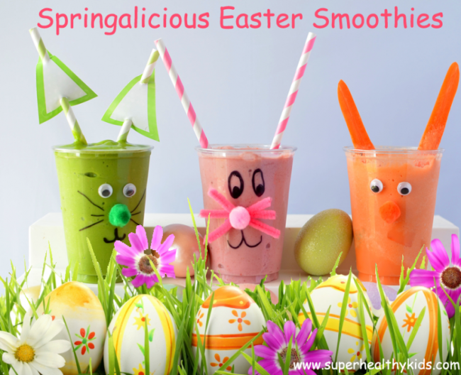 Easter-breakfast-rainbow-smoothie-rabbits