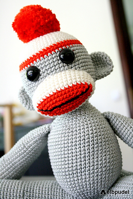 Free Sock Monkey Patterns Peek A Boo Pages Patterns Fabric More