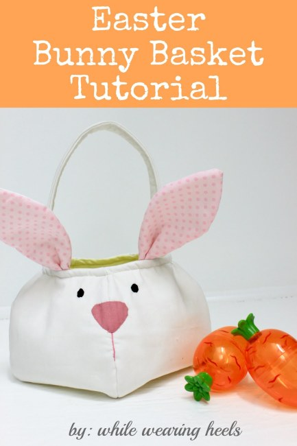 easter bunny basket tutorial