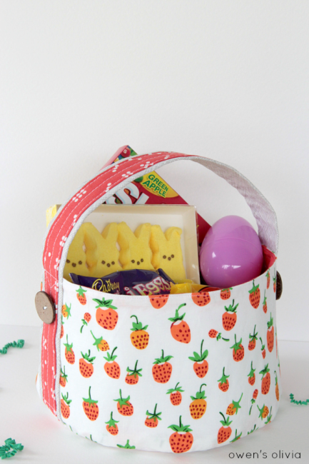 soft fabric baskets